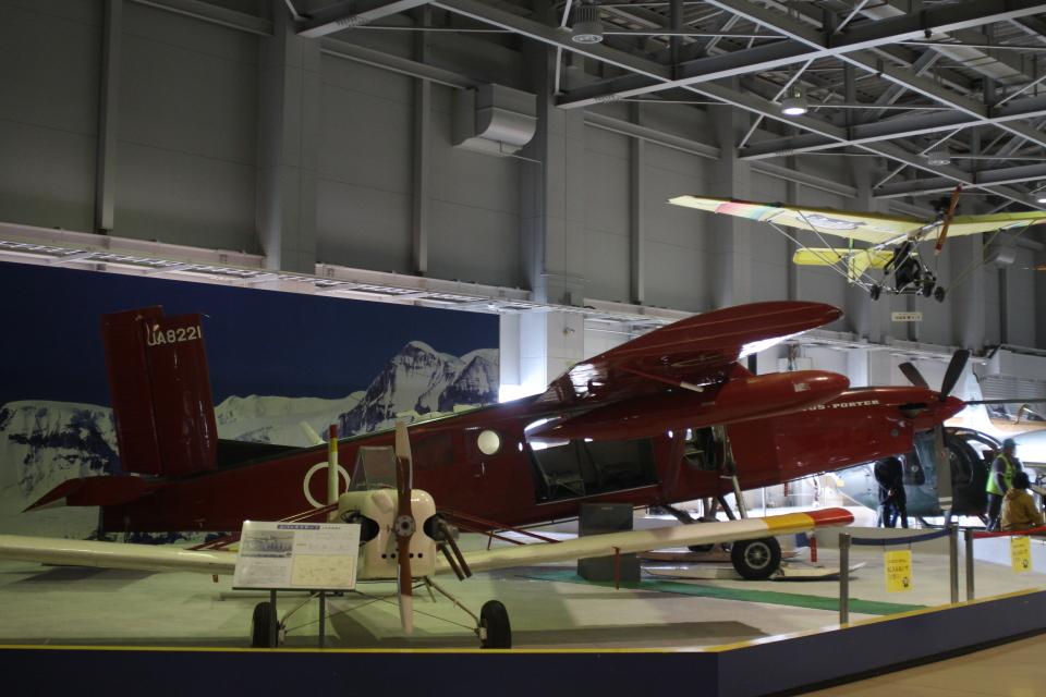 ジャンクさんの日本法人所有 Pilatus PC-6 Porter (JA8221) 航空フォト