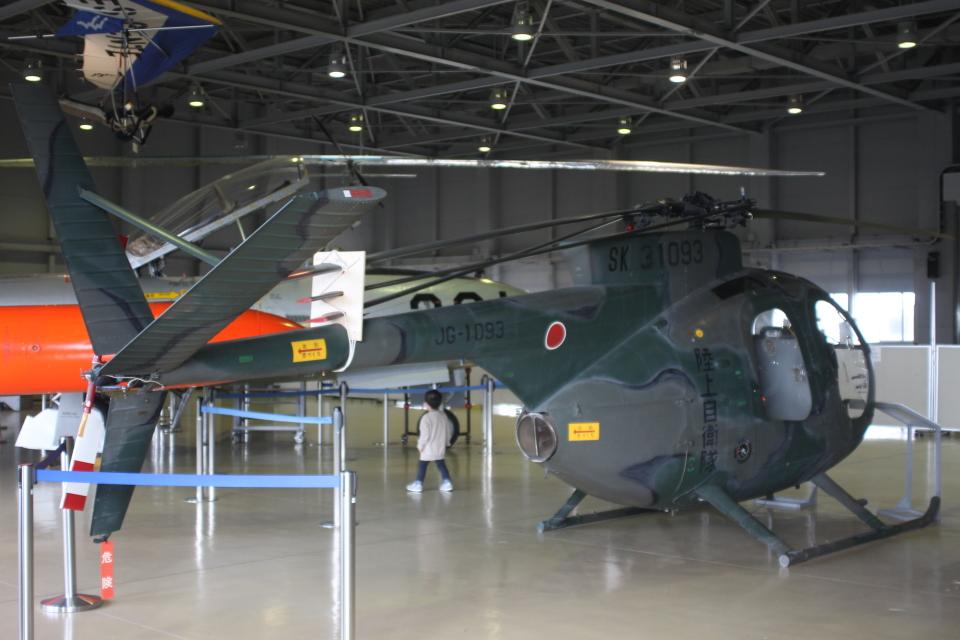 ジャンクさんの陸上自衛隊 Kawasaki OH-6J (31093) 航空フォト