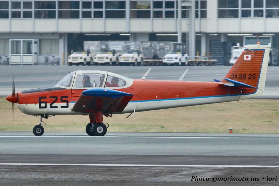 いおりさんの日本個人所有 Fuji FA-200 Aero Subaru (JA3625) 航空フォト