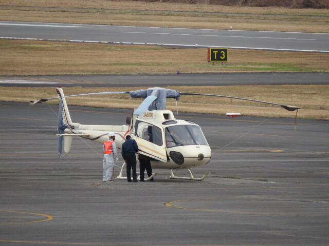 F.YUKIHIDEさんが、岡南飛行場で撮影したオートパンサー AS350B2 Ecureuilの航空フォト(飛行機 写真・画像)