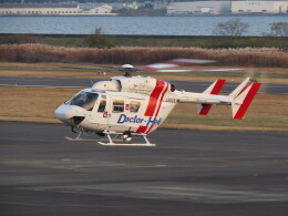 航空フォト:JA6659 セントラルヘリコプターサービス BK117