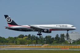 サンドバンクさんが、成田国際空港で撮影したSF エアラインズ 757-2Z0(SF)の航空フォト(飛行機 写真・画像)