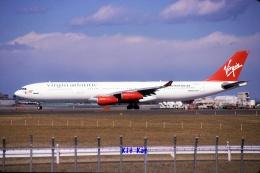 キットカットさんが、成田国際空港で撮影したヴァージン・アトランティック航空 A340-311の航空フォト(飛行機 写真・画像)