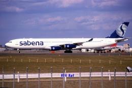 キットカットさんが、成田国際空港で撮影したサベナ・ベルギー航空 A340-311の航空フォト(飛行機 写真・画像)