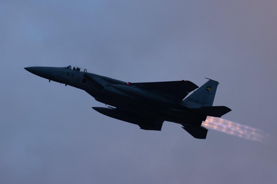 チャッピー・シミズさんの航空自衛隊 Mitsubishi F-15J Eagle (92-8912) 航空フォト