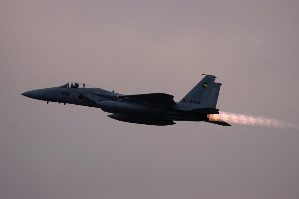 チャッピー・シミズさんの航空自衛隊 Mitsubishi F-15J Eagle (92-8906) 航空フォト