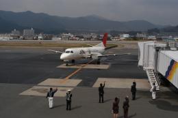 JL6DXRさんが、北九州空港で撮影した日本エアコミューター 340Bの航空フォト(飛行機 写真・画像)