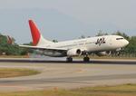ふじいあきらさんが、広島空港で撮影したJALエクスプレス 737-846の航空フォト(飛行機 写真・画像)