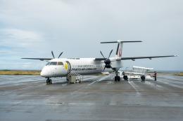 delawakaさんが、与那国空港で撮影した琉球エアーコミューター DHC-8-402Q Dash 8 Combiの航空フォト(飛行機 写真・画像)