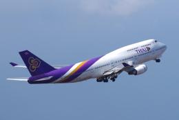 航空フォト:HS-TGZ タイ国際航空 747-400