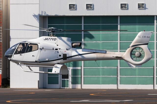 walker2000さんが、東京ヘリポートで撮影したオートパンサー EC130B4の航空フォト(飛行機 写真・画像)