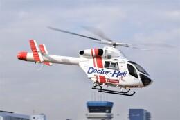 ヘリオスさんが、東京ヘリポートで撮影した朝日航洋 MD-900 Explorerの航空フォト(飛行機 写真・画像)