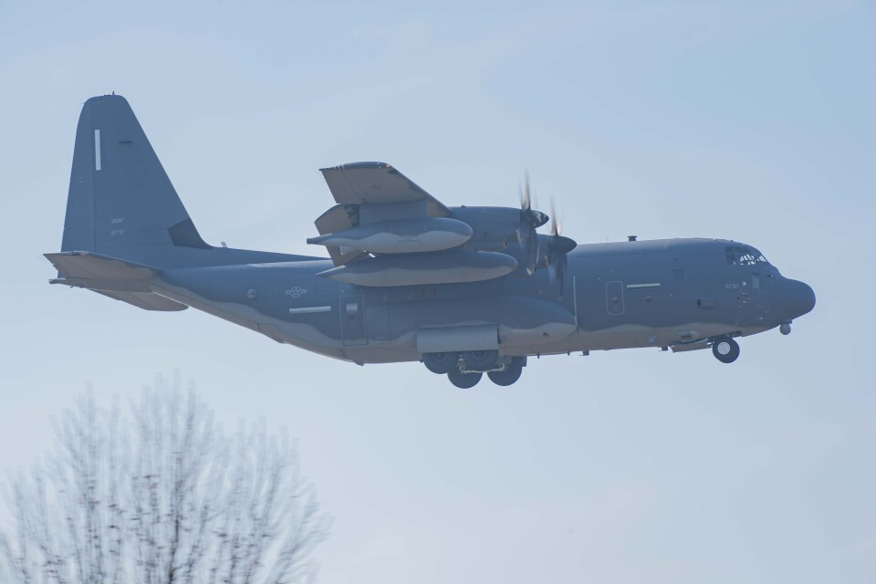 Takeshi90ssさんのアメリカ空軍 Lockheed Martin C-130 Hercules (11-5737) 航空フォト