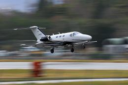 Nao0407さんが、松本空港で撮影した岡山航空 510 Citation Mustangの航空フォト(飛行機 写真・画像)