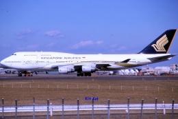 キットカットさんが、成田国際空港で撮影したシンガポール航空 747-412の航空フォト(飛行機 写真・画像)