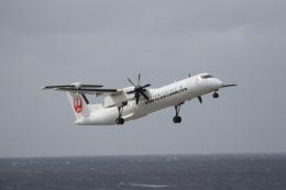 空旅さんが、久米島空港で撮影した琉球エアーコミューター DHC-8-402Q Dash 8 Combiの航空フォト(飛行機 写真・画像)