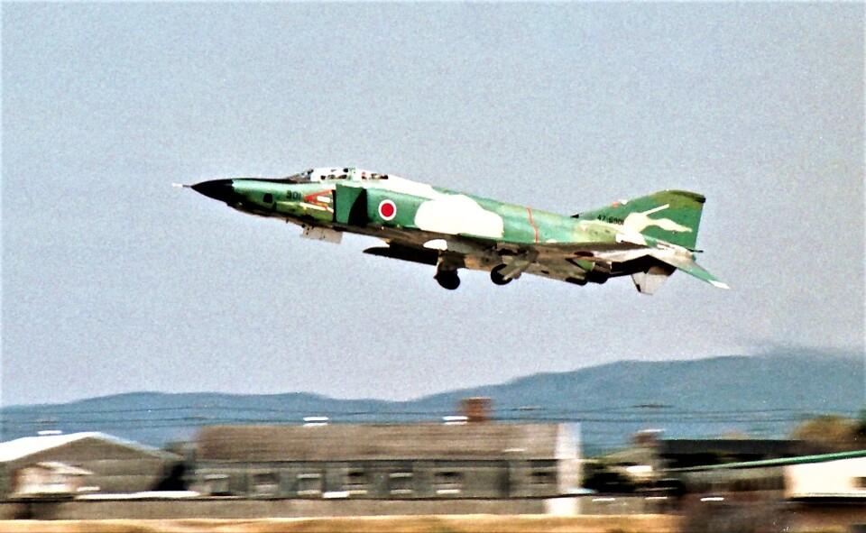 ハミングバードさんの航空自衛隊 McDonnell Douglas RF-4E Phantom II (47-6901) 航空フォト