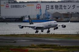 そば小猿さんが、羽田空港で撮影したルフトハンザドイツ航空 A340-313Xの航空フォト(飛行機 写真・画像)