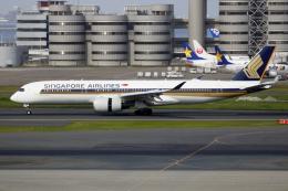 ▲®さんが、羽田空港で撮影したシンガポール航空 A350-941の航空フォト(飛行機 写真・画像)