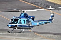 MSN/PFさんが、名古屋飛行場で撮影した愛知県警察 412EPの航空フォト(飛行機 写真・画像)