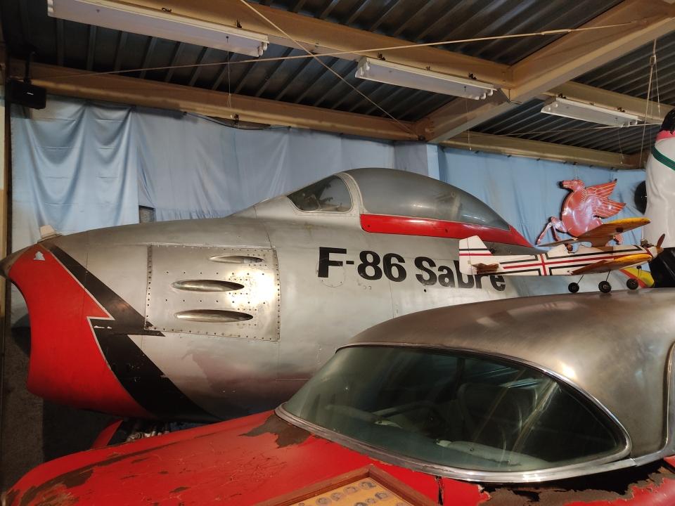 ジャンクさんの航空自衛隊 Mitsubishi F-86 Sabre  (92-7905) 航空フォト