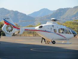 ランチパッドさんが、静岡ヘリポートで撮影した静岡エアコミュータ EC135T2の航空フォト(飛行機 写真・画像)