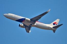 amagoさんが、スワンナプーム国際空港で撮影したマレーシア航空 737-8H6の航空フォト(飛行機 写真・画像)