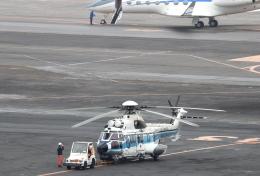 誘喜さんが、羽田空港で撮影した海上保安庁 EC225LP Super Puma Mk2+の航空フォト(飛行機 写真・画像)