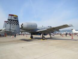 F.YUKIHIDEさんが、岩国空港で撮影したアメリカ空軍 A-10C Thunderbolt IIの航空フォト(飛行機 写真・画像)