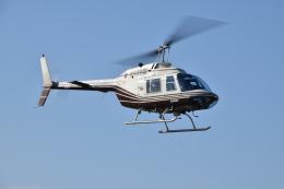 ヘリオスさんが、東京ヘリポートで撮影したヘリサービス 206B-3 JetRanger IIIの航空フォト(飛行機 写真・画像)