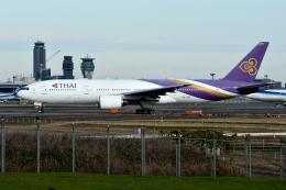 sepia2016さんが、成田国際空港で撮影したタイ国際航空 777-2D7/ERの航空フォト(飛行機 写真・画像)