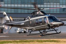 T spotterさんが、東京ヘリポートで撮影した警視庁 A109S Trekkerの航空フォト(飛行機 写真・画像)