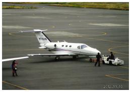 F.YUKIHIDEさんが、岡南飛行場で撮影したアメリカ企業所有 510 Citation Mustangの航空フォト(飛行機 写真・画像)