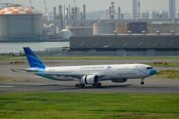 そば小猿さんが、羽田空港で撮影したガルーダ・インドネシア航空 A330-941の航空フォト(飛行機 写真・画像)