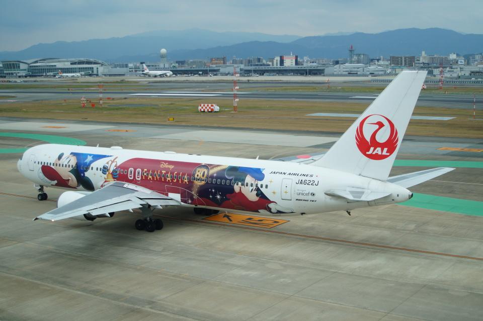 FRTさんの日本航空 Boeing 767-300 (JA622J) 航空フォト