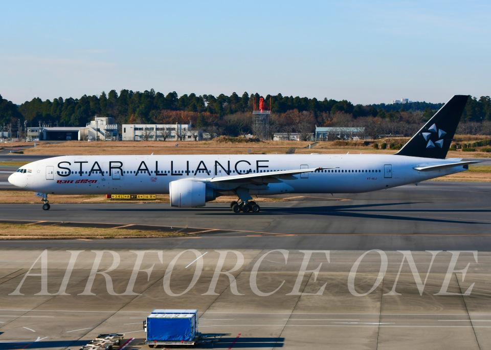 AIRFORCE ONEさんのエア・インディア Boeing 777-300 (VT-ALJ) 航空フォト