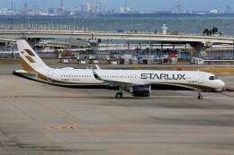 関西国際空港 - Kansai International Airport [KIX/RJBB]で撮影されたスターラックス・エアラインズ - Starlux Airlines [JX/SJX]の航空機写真
