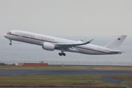 sky-spotterさんが、羽田空港で撮影したドイツ空軍 A350-941の航空フォト(飛行機 写真・画像)
