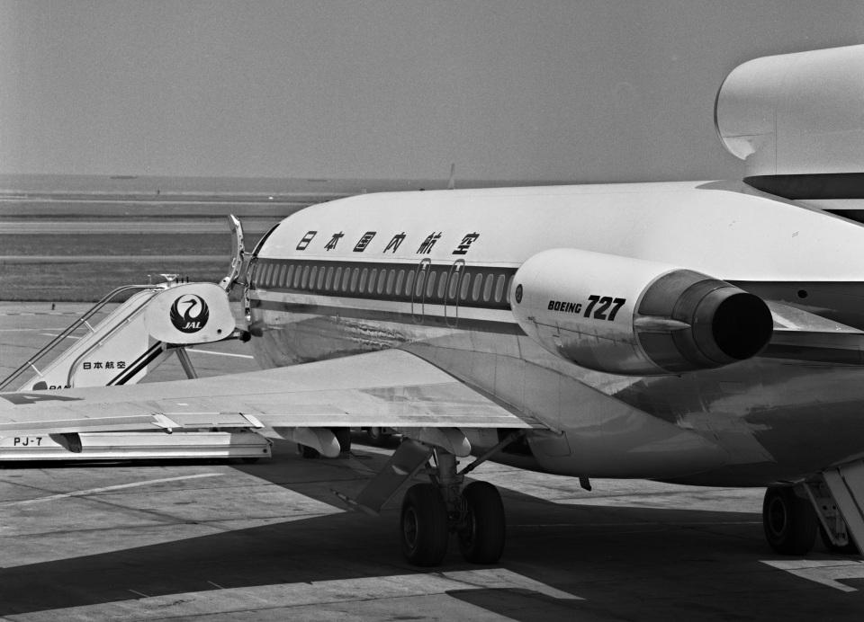 Y.Todaさんの日本国内航空 Boeing 727-100 (JA8315) 航空フォト