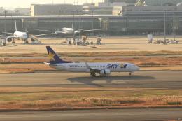 ゆう.さんが、羽田空港で撮影したスカイマーク 737-8FZの航空フォト(飛行機 写真・画像)