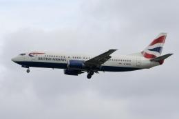 NIKEさんが、ロンドン・ガトウィック空港で撮影したブリティッシュ・エアウェイズ 737-436の航空フォト(飛行機 写真・画像)