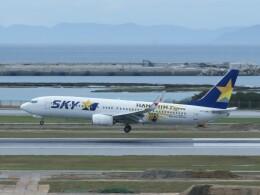 TradelView FUKUROさんが、那覇空港で撮影したスカイマーク 737-86Nの航空フォト(飛行機 写真・画像)