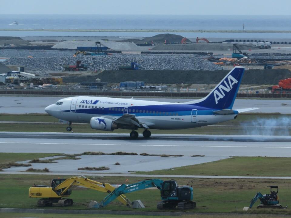 TradelView FUKUROさんのANAウイングス Boeing 737-500 (JA358K) 航空フォト