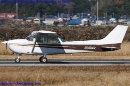 Chofu Spotter Ariaさんが、龍ケ崎飛行場で撮影した新中央航空 172P Skyhawk IIの航空フォト(飛行機 写真・画像)