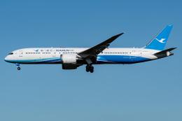 I.Kさんが、成田国際空港で撮影した厦門航空 787-9の航空フォト(飛行機 写真・画像)
