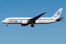 I.Kさんが、成田国際空港で撮影したZIPAIR 787-8 Dreamlinerの航空フォト(飛行機 写真・画像)