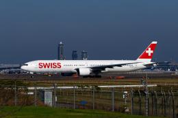 simokさんが、成田国際空港で撮影したスイスインターナショナルエアラインズ 777-3DE/ERの航空フォト(飛行機 写真・画像)