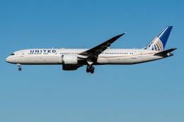 I.Kさんが、成田国際空港で撮影したユナイテッド航空 787-9の航空フォト(飛行機 写真・画像)