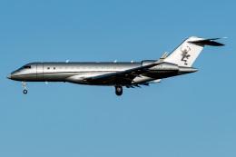 I.Kさんが、成田国際空港で撮影したビスタジェット BD-700-1A10 Global 6000の航空フォト(飛行機 写真・画像)