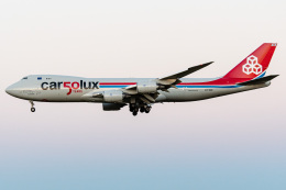 I.Kさんが、成田国際空港で撮影したカーゴルクス 747-8R7F/SCDの航空フォト(飛行機 写真・画像)